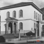 Black and white image of the Touro Synagogue, undated.